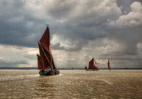 Thames Barges Match Racing